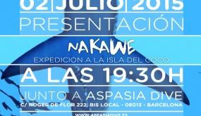 2. 2 DE JULIO A LAS 19:30. PRESENTACIÓN DE LA ÚLTIMA EXPEDICIÓN DE NAKAWE A LA ISLA DEL COCO (Costa Rica)