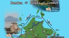 Z. BANGKA – LEMBEH – BUNAKEN (COMBINADO) (NORTE DE SULAWESI, INDONESIA)
