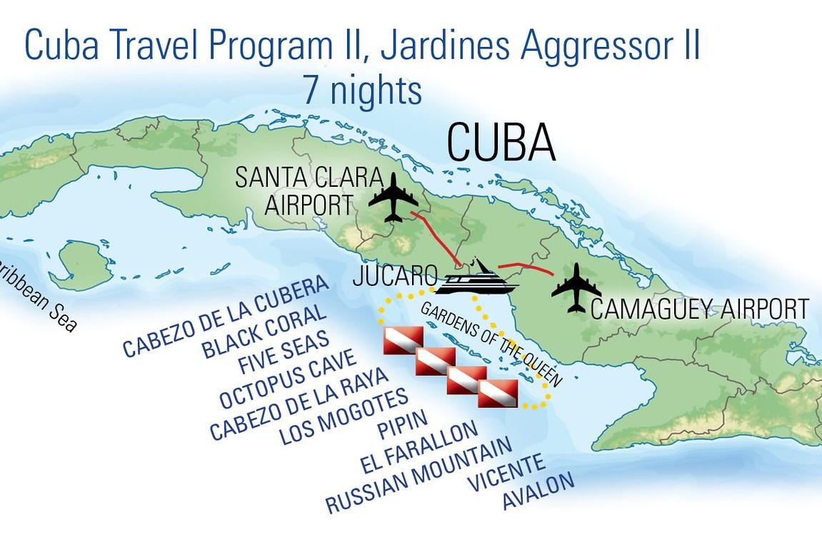 F1b Cuba Jardines De La Reina Crucero Con El Jardines Aggressor