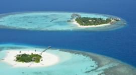 C2.1b. MALDIVAS. ATOLÓN DE ARI SUR. MAAFUSHIVARU MALDIVES RESORT E ISLOTE DE LONUBO