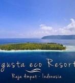 G2c. RAJA AMPAT / PAPUA – WAIGEO / FAM / KRI. AGUSTA ECO RESORT