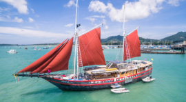 "D1b. TAILANDIA – MAR DE ANDAMÁN. CRUCERO 11 DÍAS ""THE BEST OF THAILAND"" (NORTE Y SUR) CON EL SY ""THE PHINISI"""