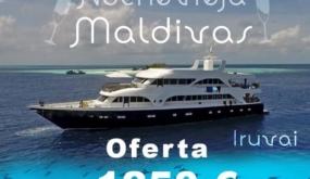 MALDIVAS CON EL IRUVAI. FIN DE AÑO 2020-2021. CRUCERO EN ESPAÑOL. 1.250 € + TASAS + VUELOS